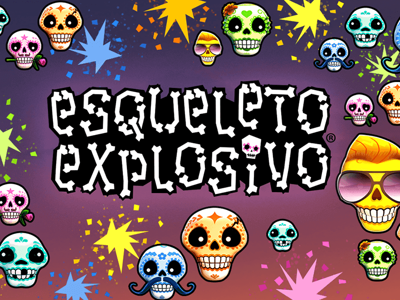 Esqueleto Explosivo Slots - Play Thunderkick Games for Money