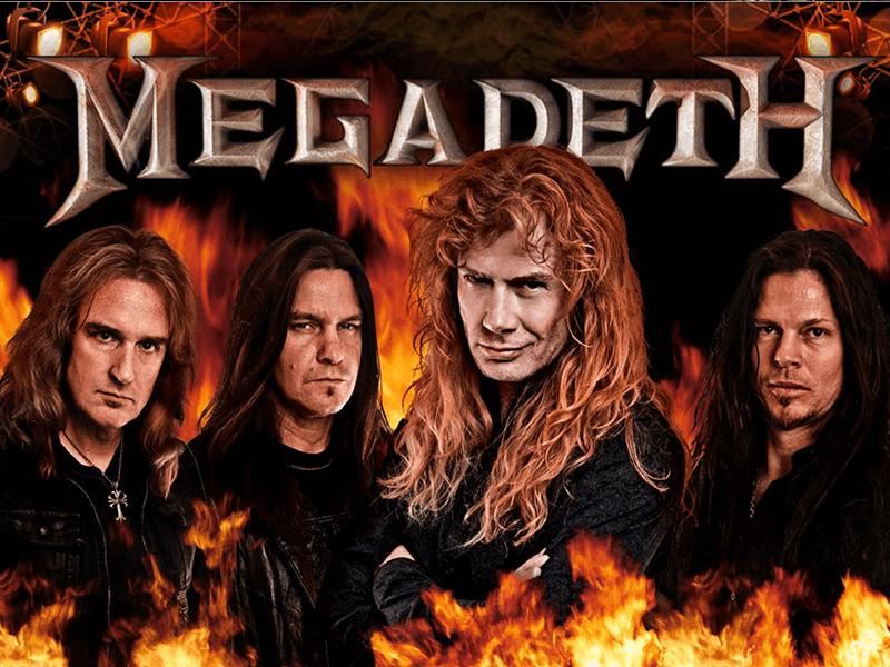 Megadeth slots machine