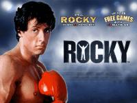 Rocky slots machine