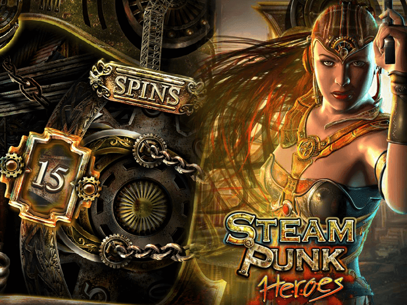 Steam Punk Heroes slots machine