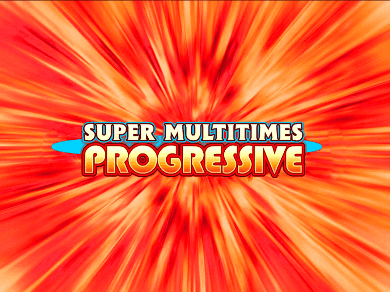 Super Multitimes Progressive slots machine