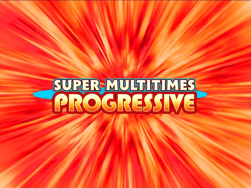 Super Multitimes Progressive slots machine
