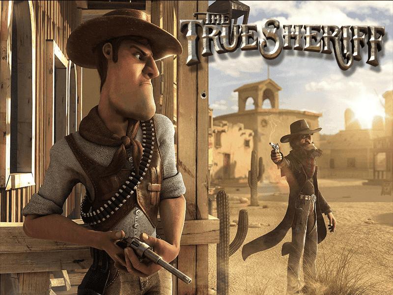 The True Sheriff slots machine