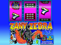 Zany Zebra slots machine