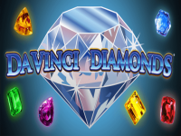 DaVinci Diamonds Slots Logo
