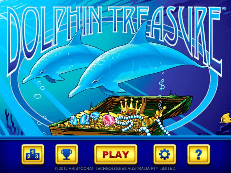 Dolphin Treasure Slots Free