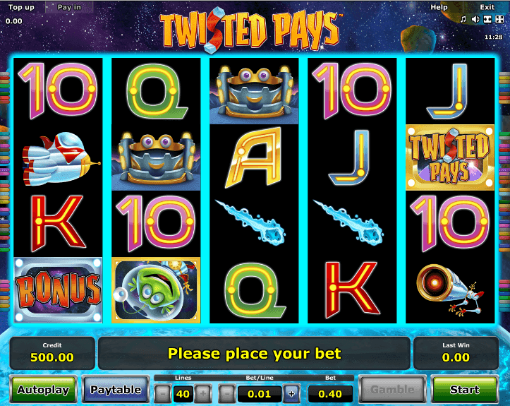 Twisted Pays Slot Machine