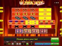 Ultra Hot Deluxe Slot Machine