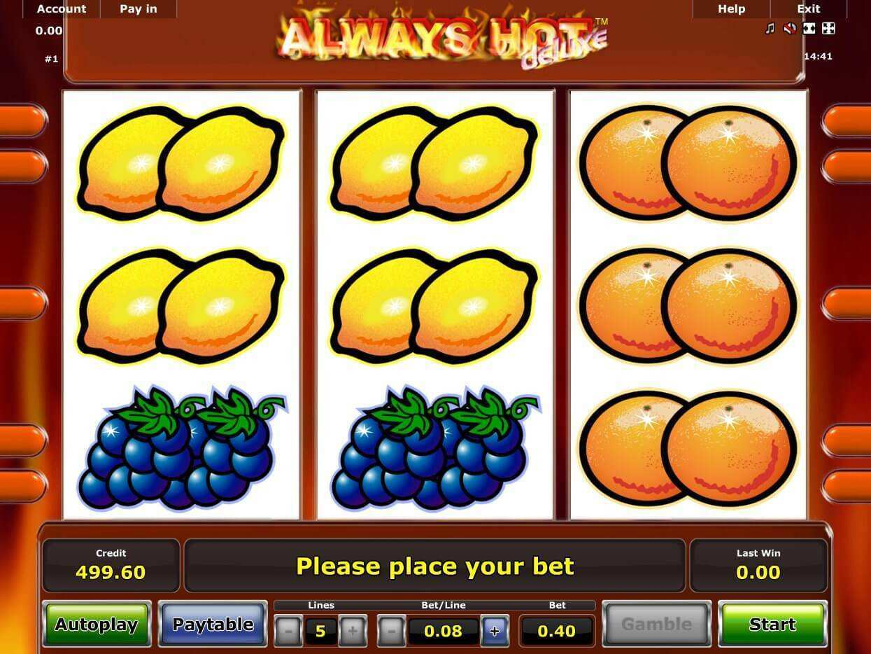 Always Hot™ Slot Machine Game to Play Free in Novomatics Online Casinos