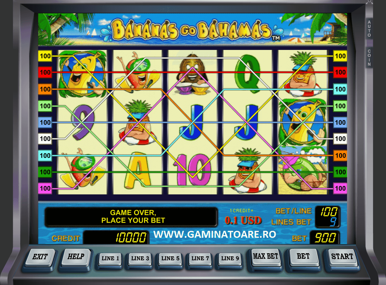 Bananas go Bahamas Slot Machine Online ᐈ Novomatic™ Casino Slots