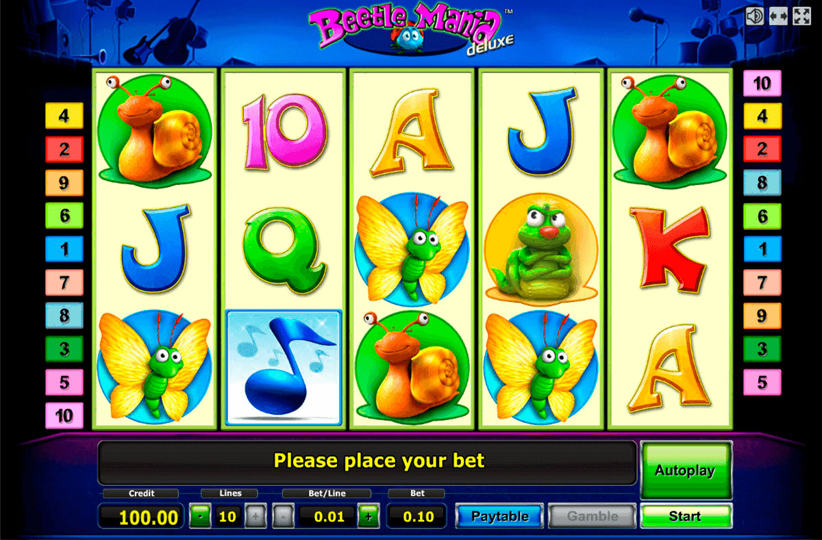 Beetle Mania™ Slot Machine Game to Play Free in Novomatics Online Casinos