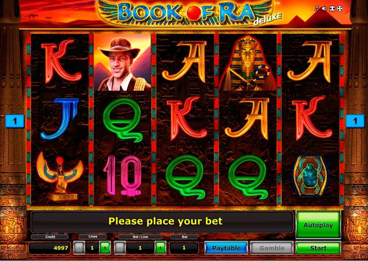 Free casino slot game book of ra