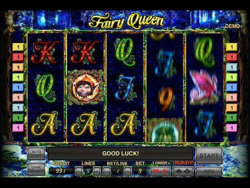 Fairy Queen™ Slot Machine Game to Play Free in Novomatics Online Casinos