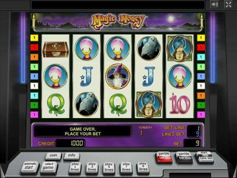 Magic Money Slots Machine For Free For Money With Free Spins