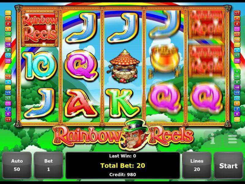 Rainbow Reels™ Slot Machine Game to Play Free in Mazoomas Online Casinos