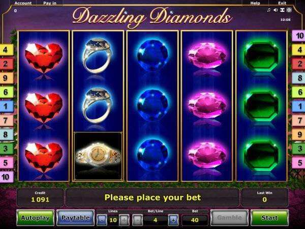 Dazzling Diamonds Slot Machine - Play Online for Free