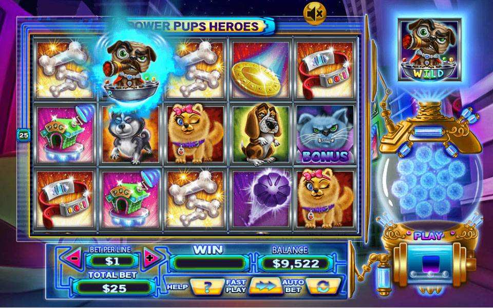 Power Pups Heroes Slots - Free to Play Demo Version