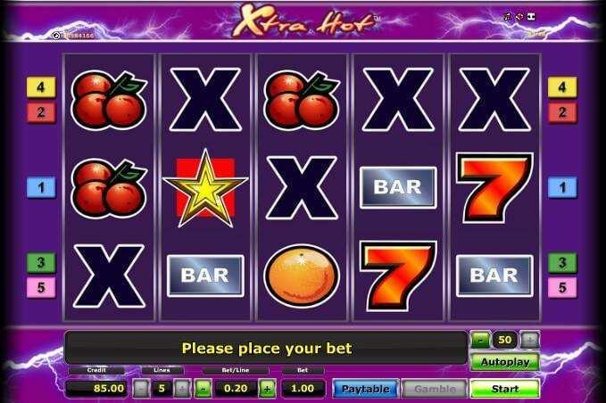 Xtra Hot Slots