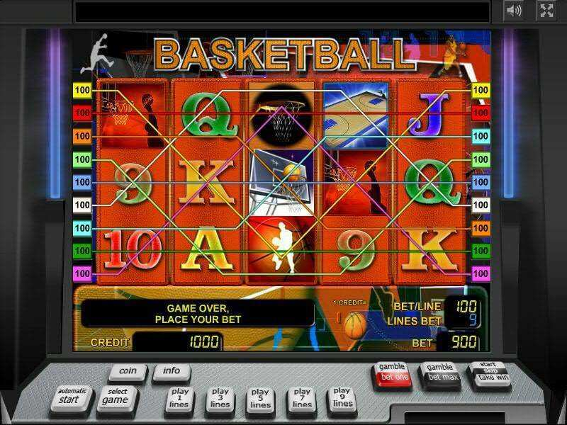 basketball-slot