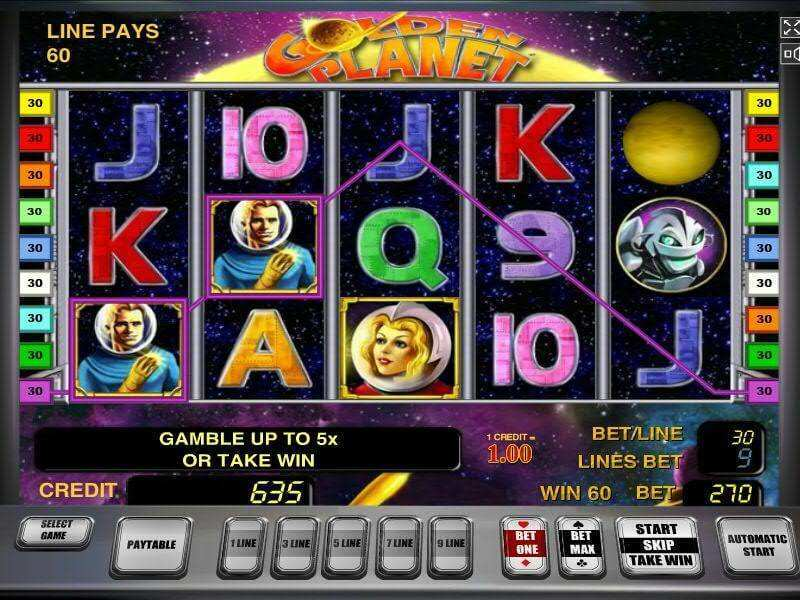 Golden Planet Slot Review & Free Instant Play Game