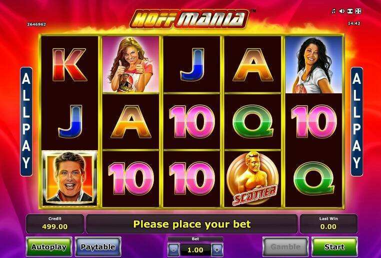 Hoffmania Slot Machine - Play it for Free Online