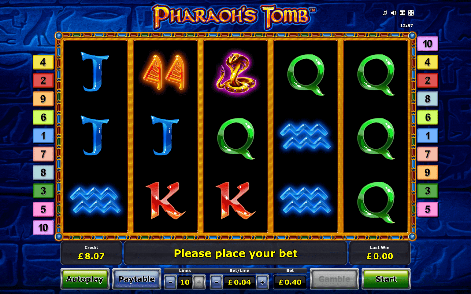Pharaohs Tomb Slot Machine - Play for Free Online Today