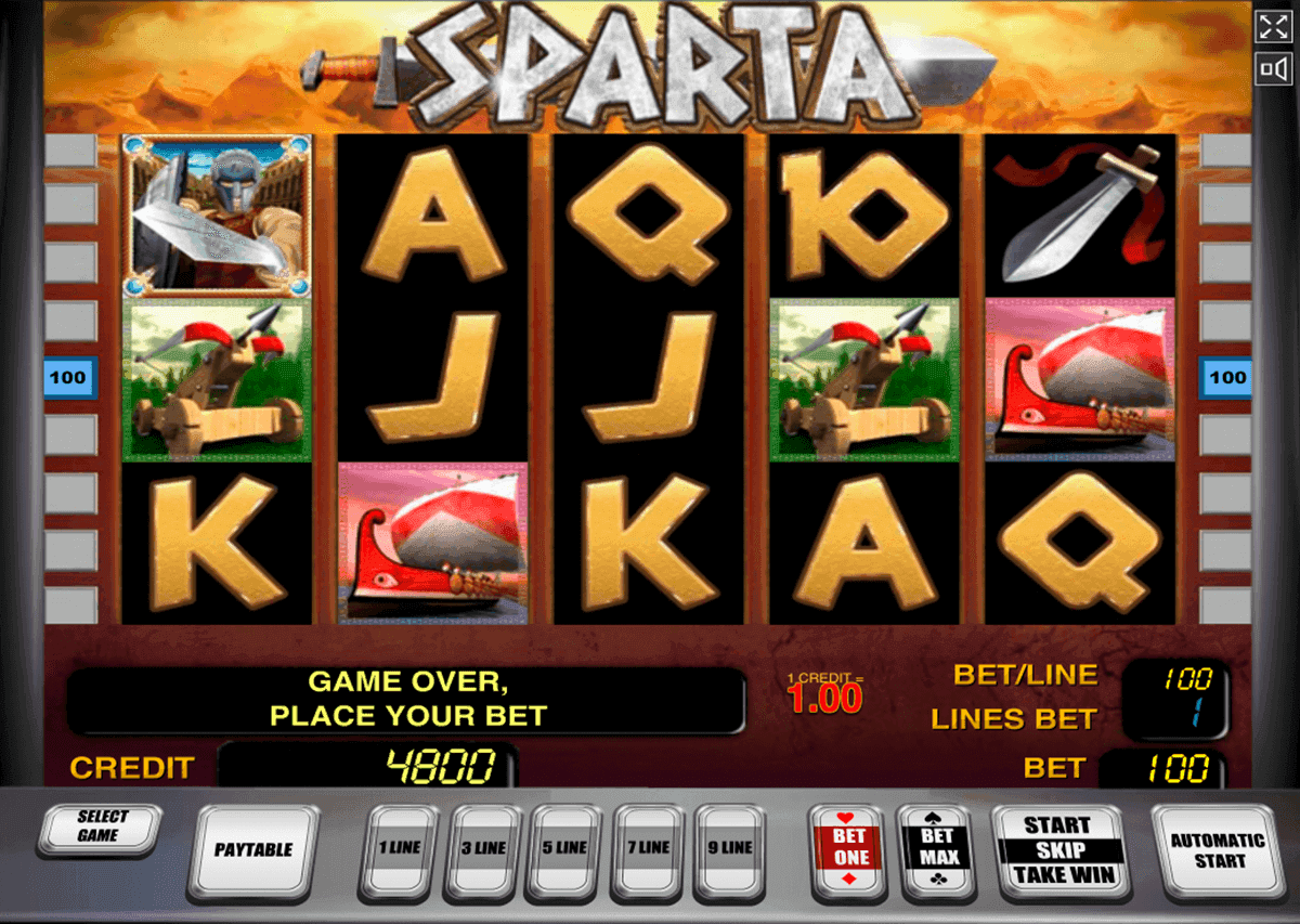 Sparta™ Slot Machine Game to Play Free in Novomatics Online Casinos