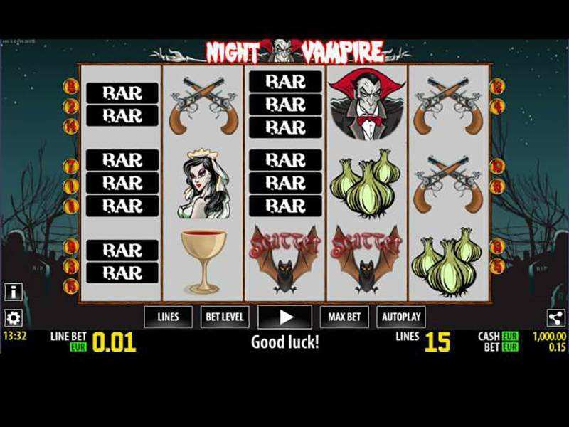 Night Vampire Slots - Play Online for Free Now
