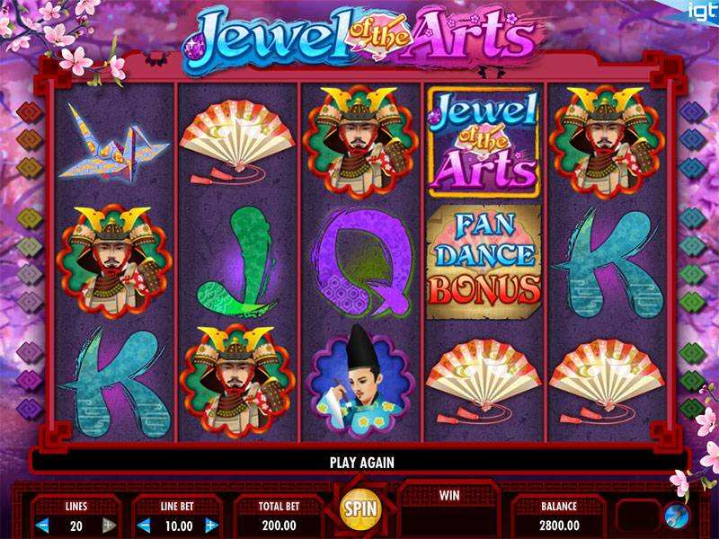 Jewel of the Arts Slot Machine - Free Demo Available Online