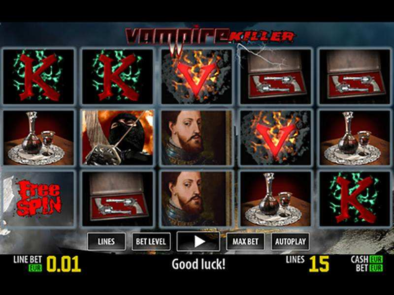Play Vampire Killer Free with No Download Here