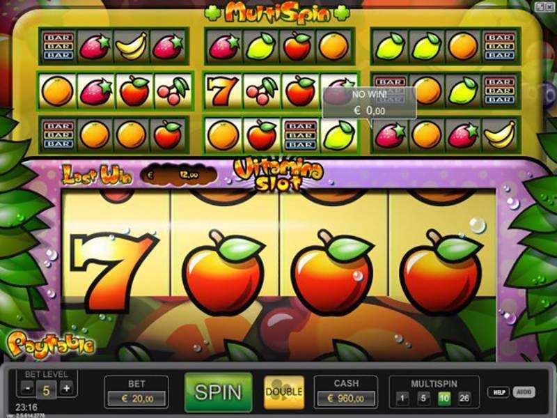 Play Vitamina Slot Machine Free With No Regstration