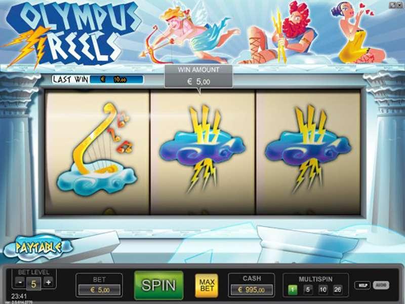 Olympus Slot Machine Game