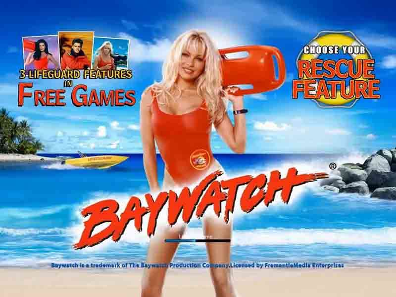 Baywatch Slot Game - Play this 80s TV Slot for Free
