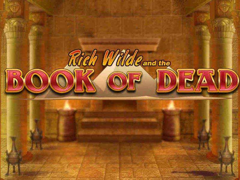 book of dead video slots