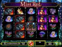Miss Red video slot game