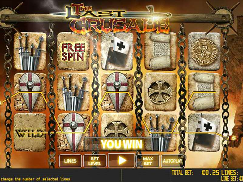 The Last Crusade Slots Review & Free Online Demo Game
