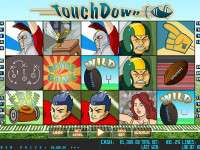 Touch Down Video Slot