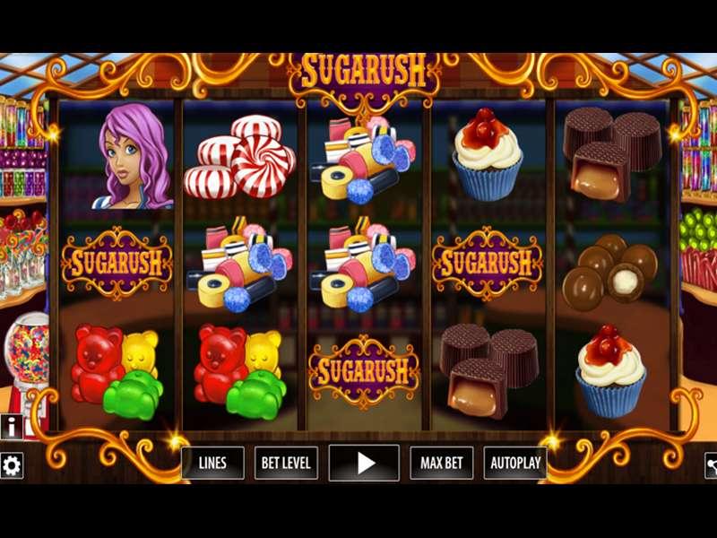 Sugarush Slot Machine Game