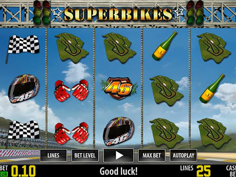 Superbikes Slots - Play for Free With No Download