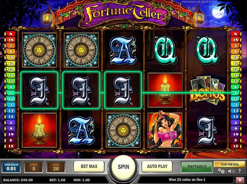 Fortune Teller Slots - Play Fortune Teller Slots No download