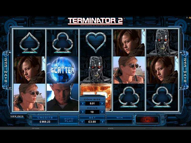 Terminator 2™ Slot Machine Game to Play Free in Microgamings Online Casinos