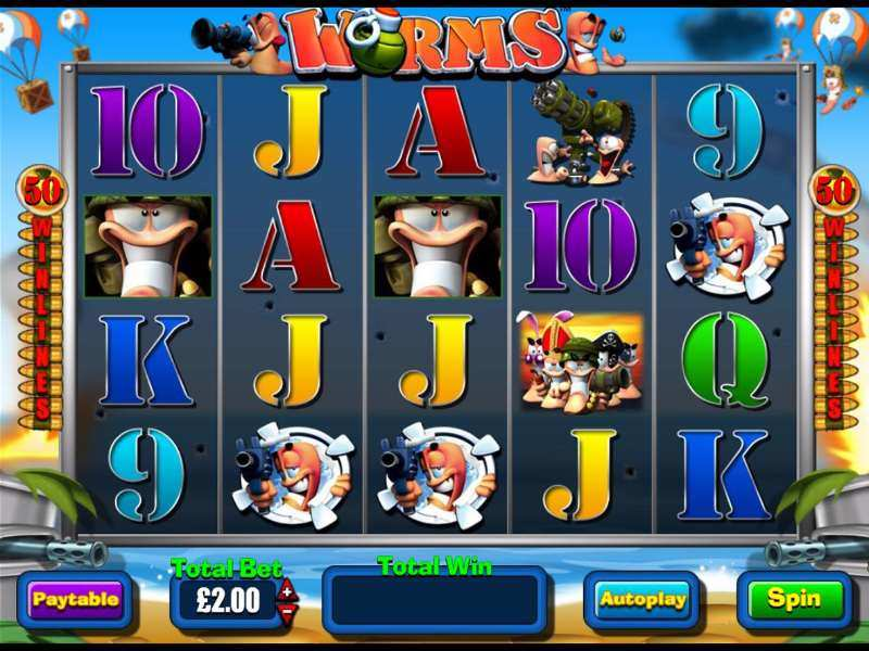 Worms™ Slot Machine Game to Play Free in BluePrint Gamings Online Casinos