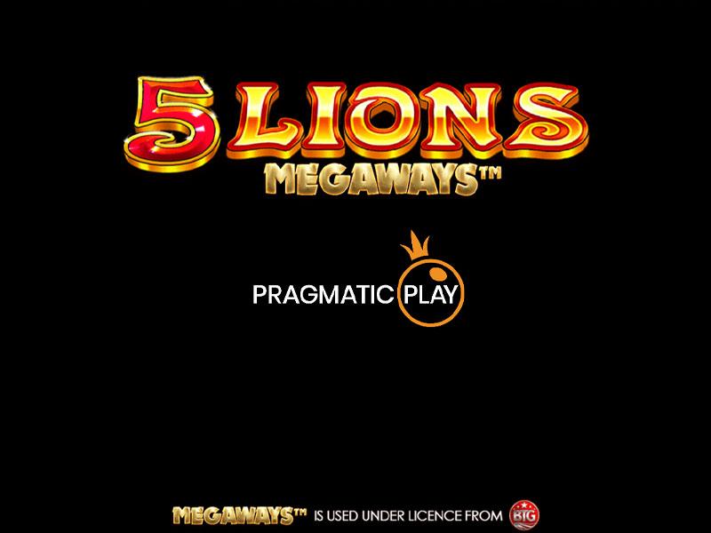 5 Lions Megaways Slot Online