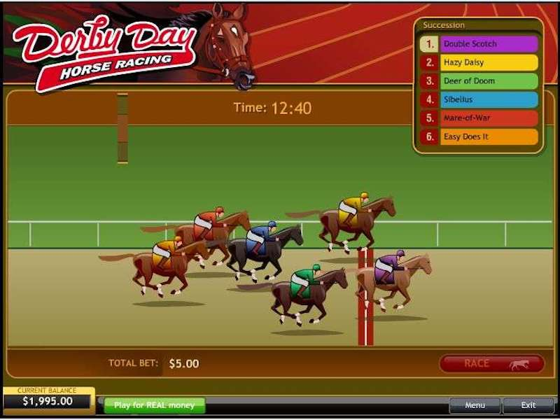 Derby Day Horse Racing
