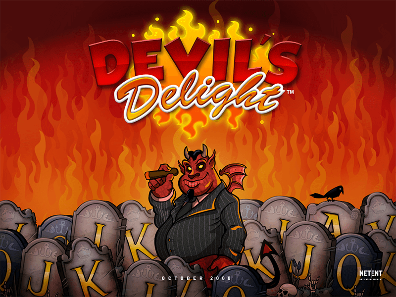 Demo devils delight netent slot game solitaire odds horse