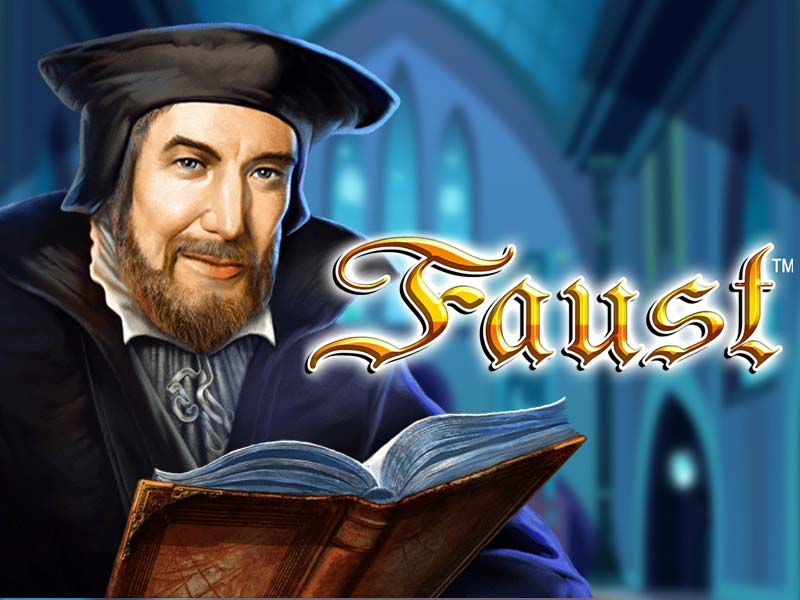 Faust free slot game to play logo
