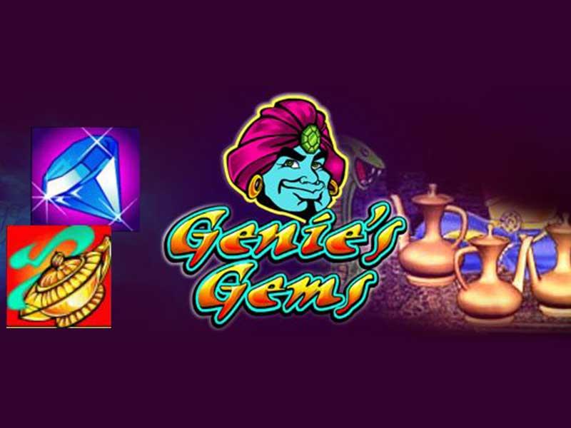 Genies Gems Slot — Free Slot Machine Game by Microgaming