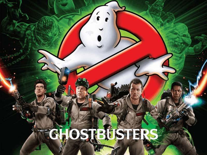 Ghostbusters slot machine logo