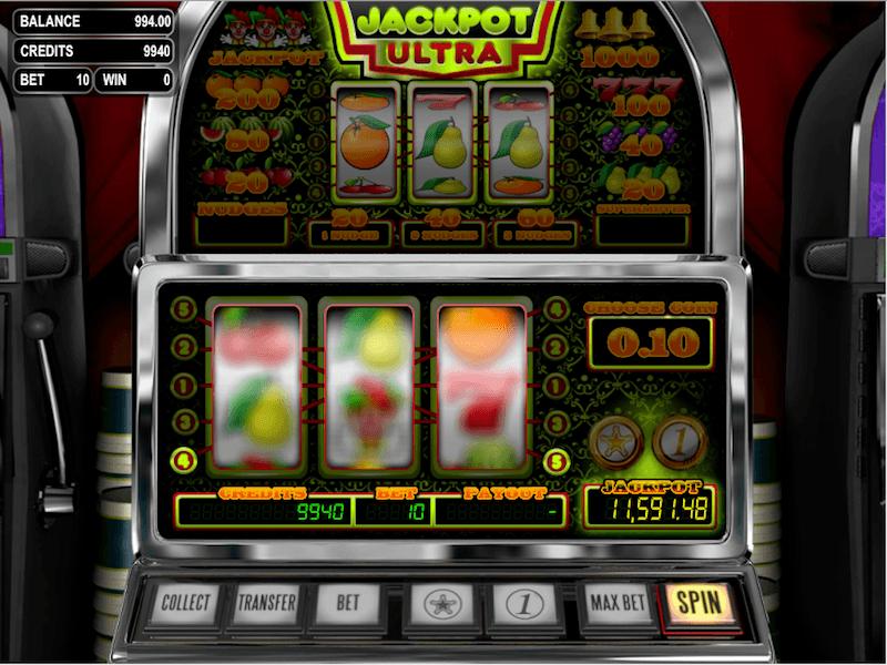 Jackpot Ultra Slot Machine