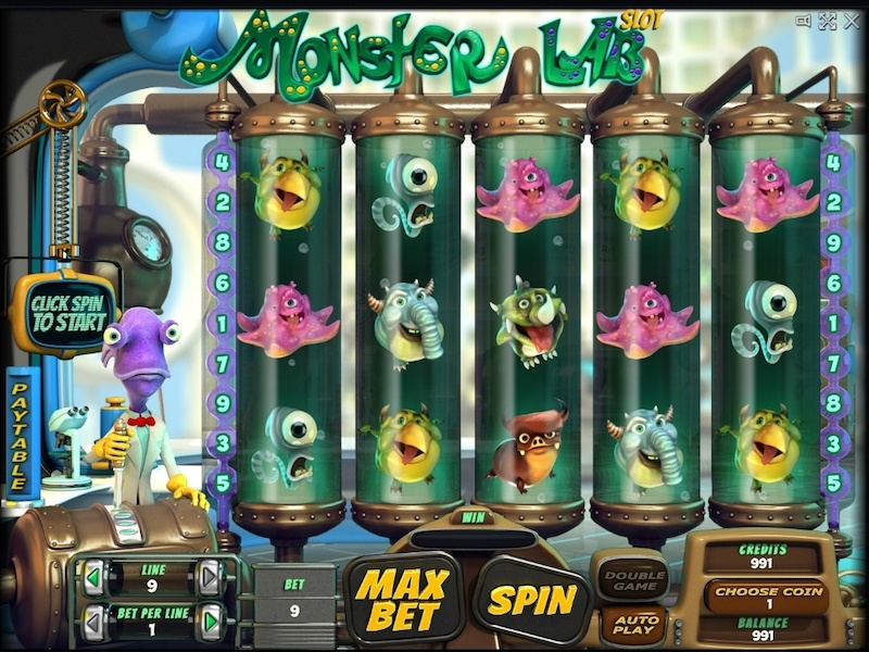 Find Monsters In The Closet Slots With No Download